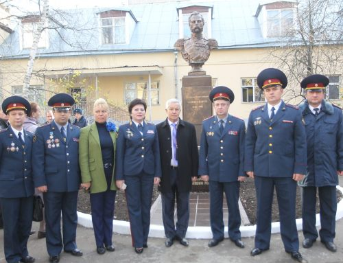 На территории УФСИН России по г. Москве  состоялось открытие памятника Александру II.