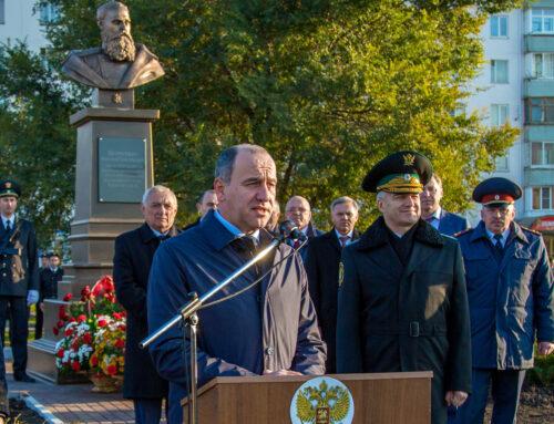 Открытие памятника Н. Г. Петрусевичу, г. Черкесск.