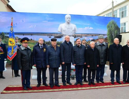 Открытие памятника М. Н. Галкину-Враскому, г. Рязань.