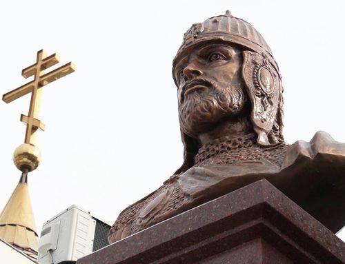 Памятник Александру Невскому в Сирии!