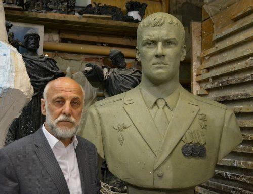 Бюст Роману Филипову установлен в Сирии