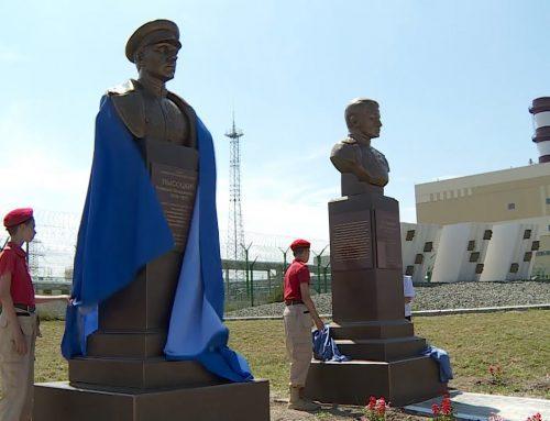 Открытие памятников А.В. Высоцкому и Н.В. Богданову в Крыму