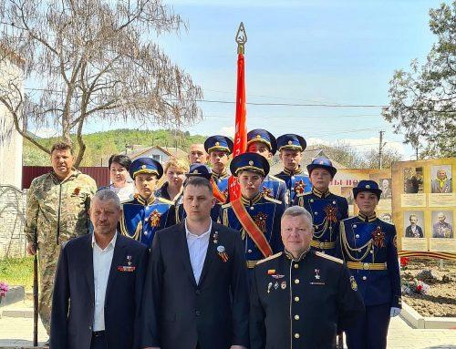 Открытие памятника полному кавалеру ордена Славы Ивану Бессонову